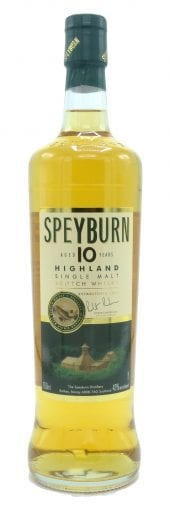 Speyburn Single Malt Scotch Whisky 10 Year Old 750ml