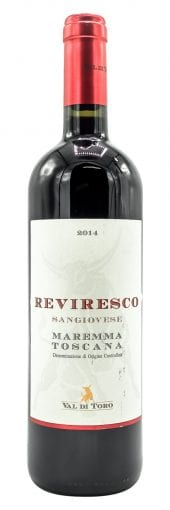 2015 Val di Toro Maremma Toscana Reviresco 750ml