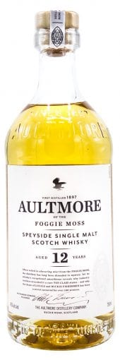 Aultmore Single Malt Scotch Whisky 12 Year Old 750ml