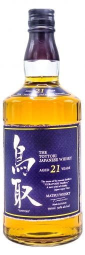 Matsui Shuzo Blended Whisky The Tottori, 21 Year Old 750ml