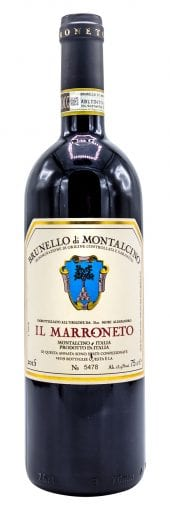 2015 Il Marroneto Brunello di Montalcino 750ml