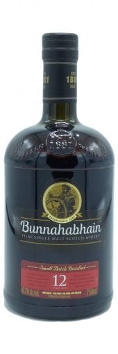Bunnahabhain Single Malt Scotch Whisky 12 Year Old 750ml