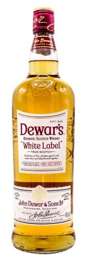 Dewar's Blended Scotch Whisky White Label 1L