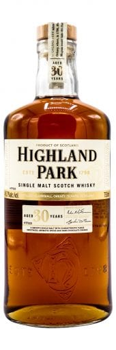Highland Park Single Malt Scotch Whisky 30 Year Old 750ml