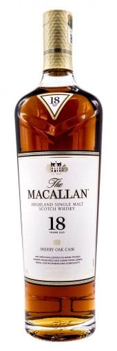Macallan Single Malt Scotch Whisky 18 Year Old 750ml
