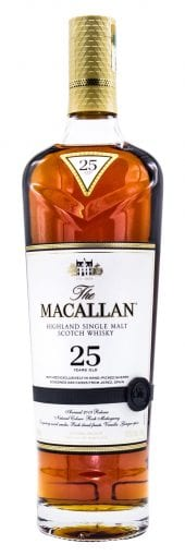 Macallan Single Malt Scotch Whisky 25 Year Old, Sherry Oak 750ml