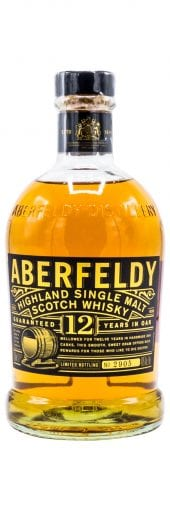 Aberfeldy Single Malt Scotch Whisky 12 Year Old 750ml