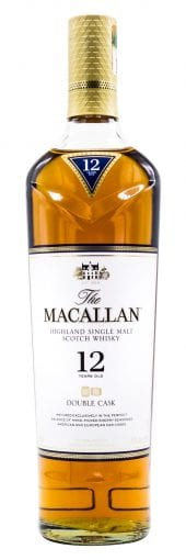 Macallan Single Malt Scotch Whisky 12 Year Old, Double Cask 750ml