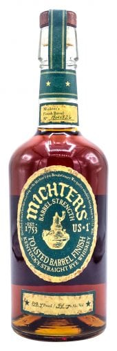 Michters Rye Whiskey Toasted Barrel Finish 750ml