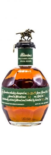 Blantons Bourbon Whiskey Green Special Reserve 750ml