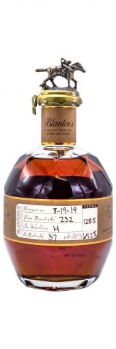 Blantons Bourbon Whiskey Straight From The Barrel 700ml