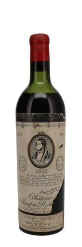 1953 Chateau Mouton Rothschild 750ml