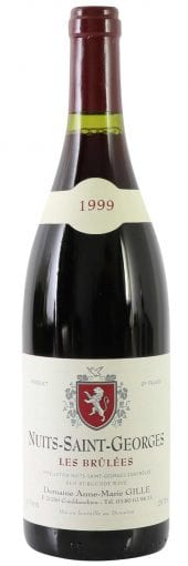 1999 A.-M. Gille Nuits St. Georges Les Brulees 750ml