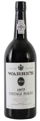 1977 Warre's Vintage Port 750ml