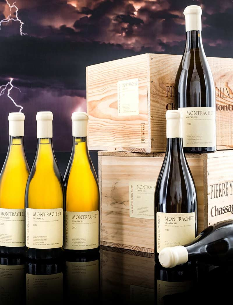 Lot 486-489: 6 bottles 2009, 3 of 2010 and 6 or 2 bottles 2012 Pierre-Yves Colin Morey Montrachet